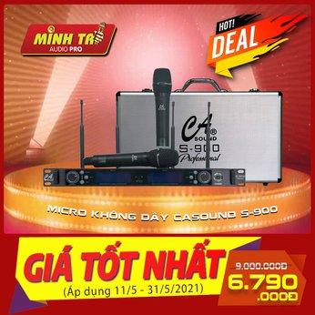 MICRO KHÔNG DÂY CA SOUND S-900