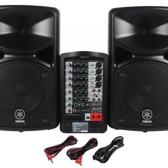 Hệ thống âm thanh Yamaha Stagepas 400i/600i