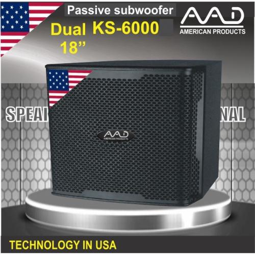 SPEAKER SUBWOOFER AAD KS-6000