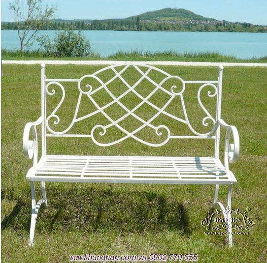 Benches Beautiful Iron Garden Art KH G045