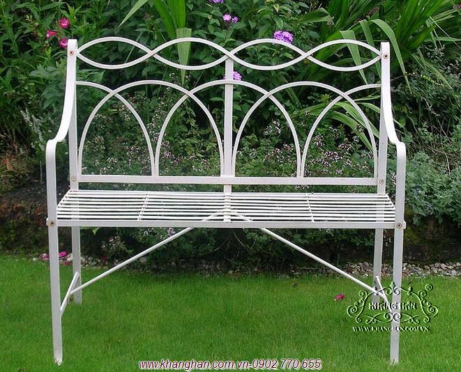 Benches Bending Iron Garden Art Beautiful Italian Style KH G069