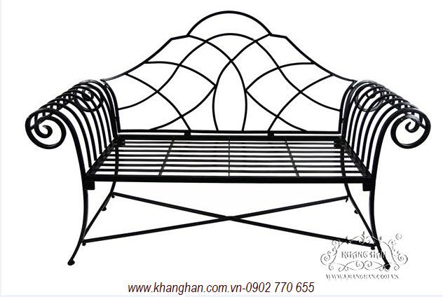 5 Mẫu ghế dài sắt mỹ thuật đep thanh lịch
