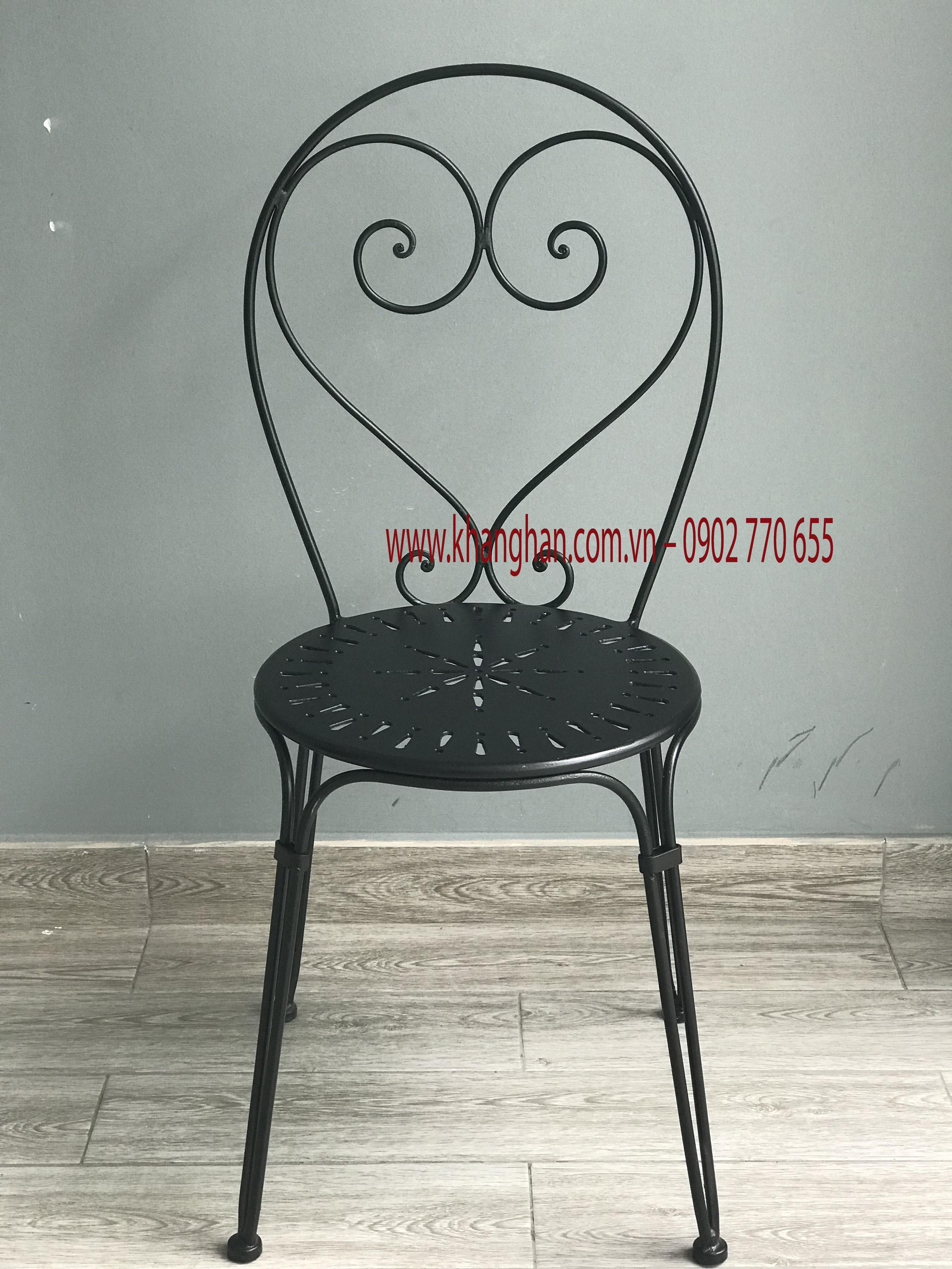 Ghế sắt đẹp cho quán cafe,ghế sắt giá rẻ,bền đẹp tại thành phố hồ chí minh
