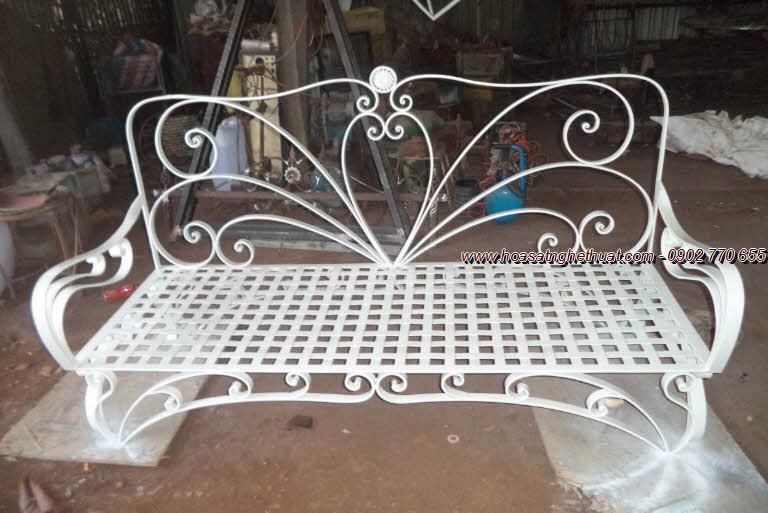 Ghế sofa trang trí sắt rèn nghệ thuật Khang Hân