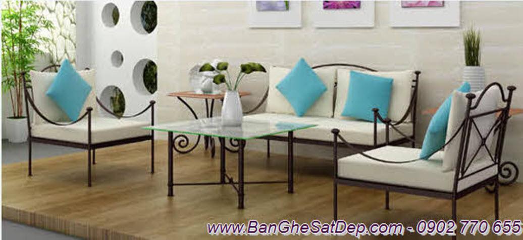 Sofa sắt nghệ thuật phong cách Ý