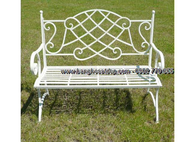 The long bench forged graceful art KH-GD045