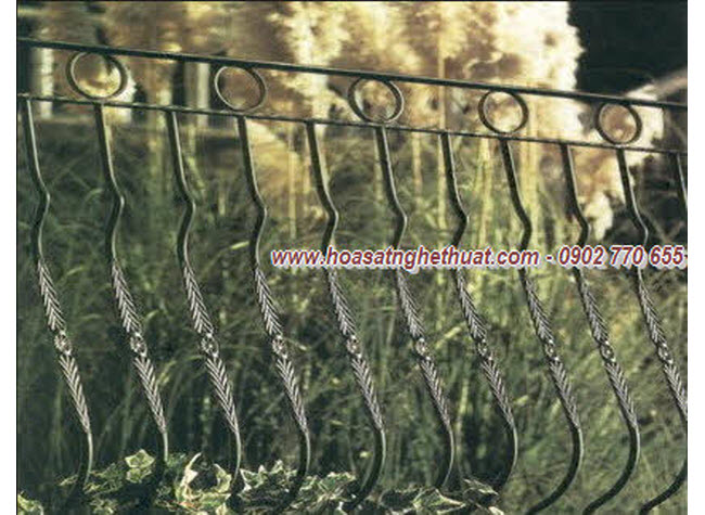 Wrought iron fences art KH-HR011