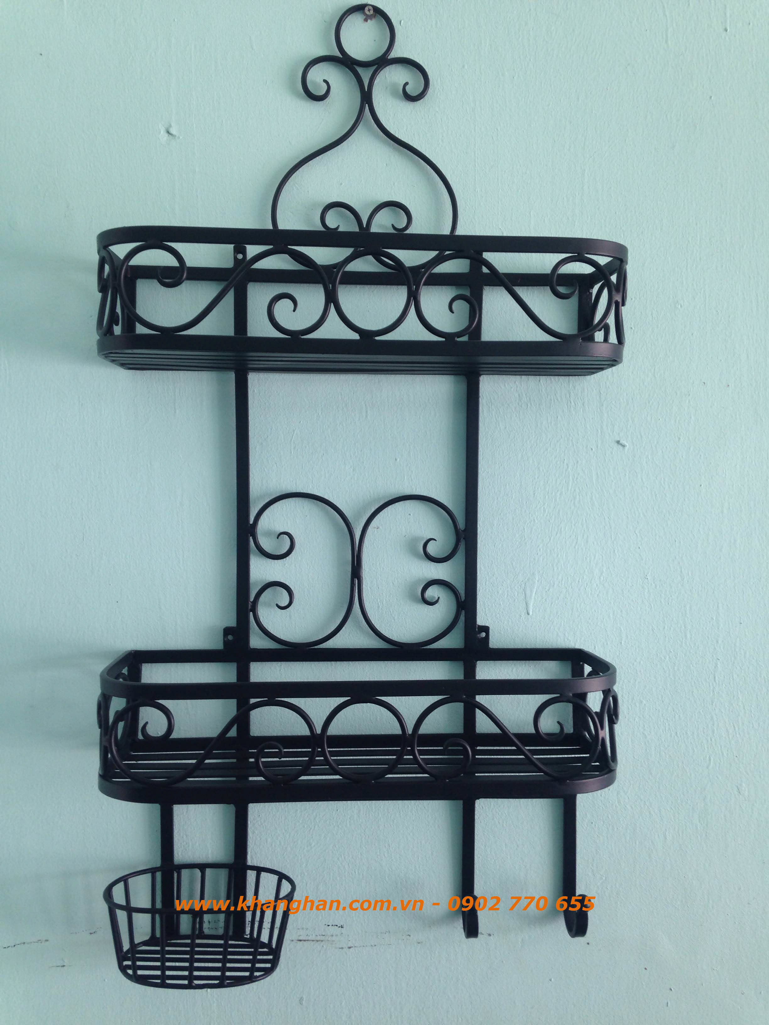 Decorative iron shelves KH15-STT001