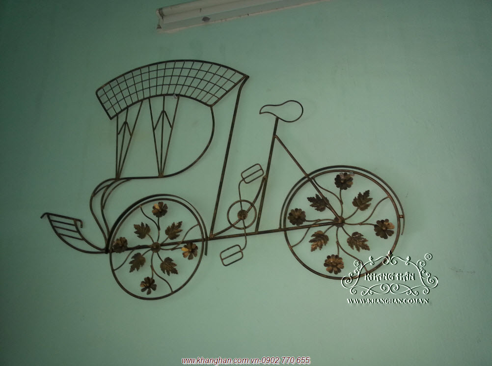 Cyclo iron wall art KH14-STT001