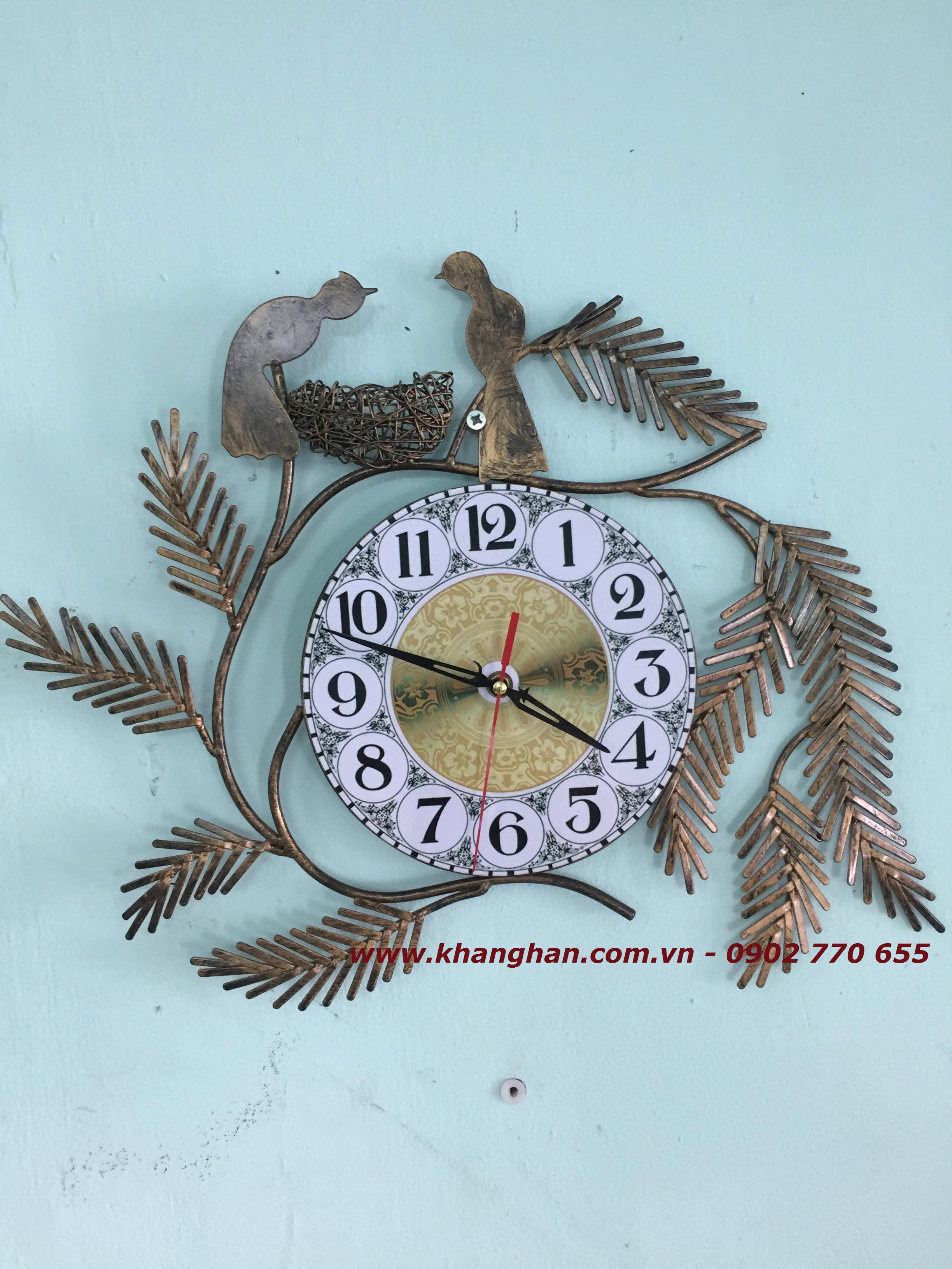 Đồng hồ sắt mỹ thuật