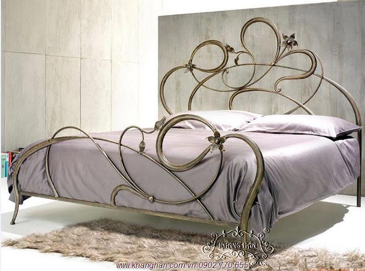 Giường sắt CNC nghệ thuật