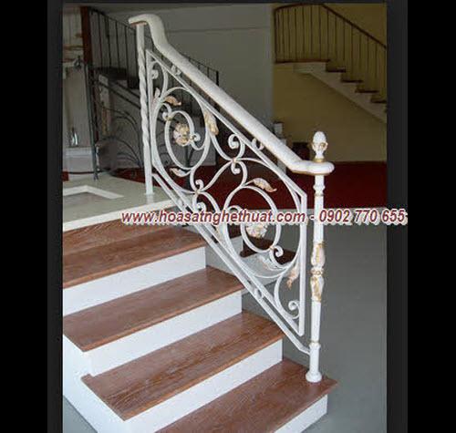Lan can,cầu thang đẹp sắt mỹ thuật