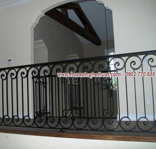 Lan can,cầu thang sắt mỹ thuật