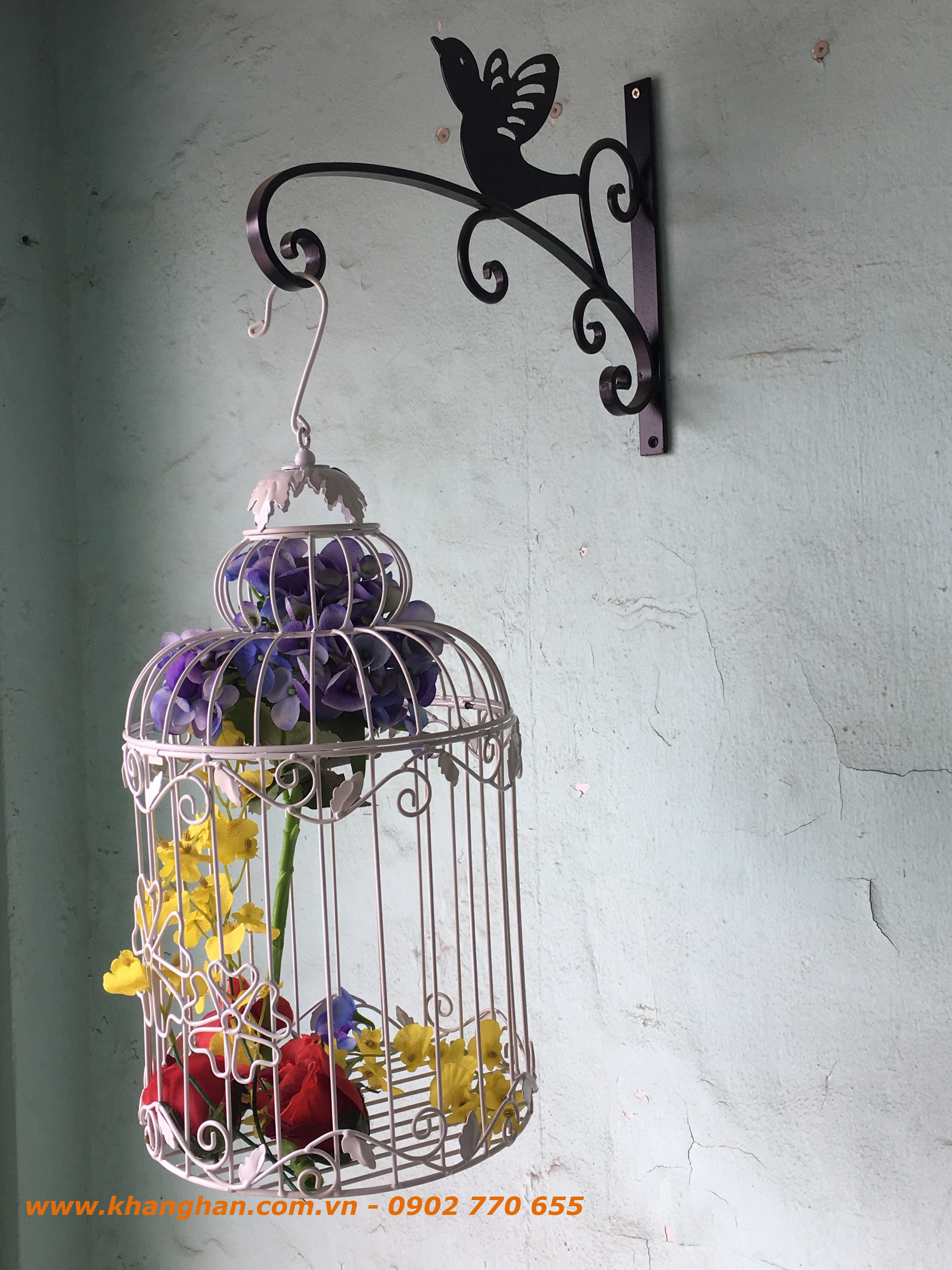 Lồng chim sắt mỹ thuật