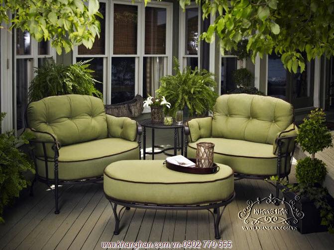 Mẫu sofa sắt nghệ thuật ấn tượng năm 2013