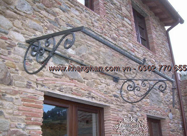 Wrought iron arches art kh14-mv004.
