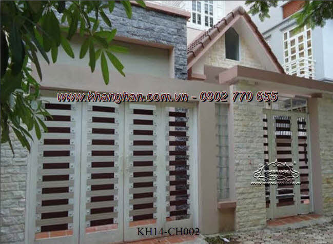 Cổng sắt hộp nghệ thuật KH14-CSH002