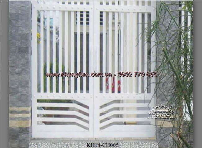 Cổng sắt hộp nghệ thuật KH14-CSH005