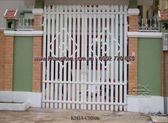 Cổng sắt hộp nghệ thuật KH14-CSH006