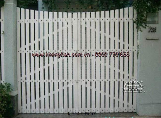 Cổng sắt hộp nghệ thuật KH14-CSH007