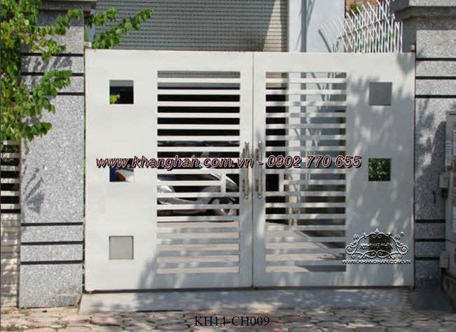 Cổng sắt hộp nghệ thuật KH14-CSH009