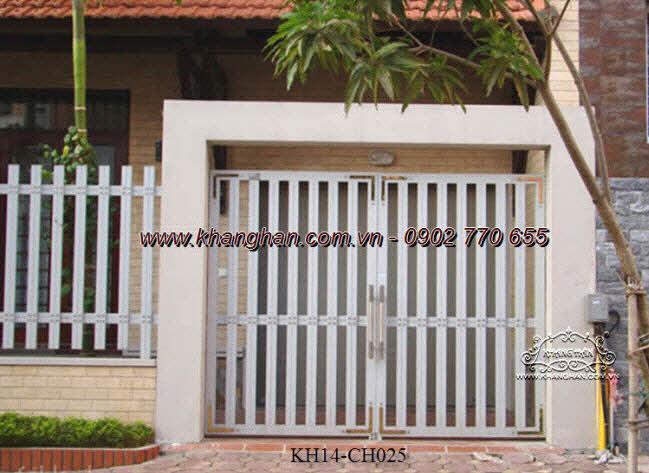 Cổng sắt hộp nghệ thuật KH14-CSH025