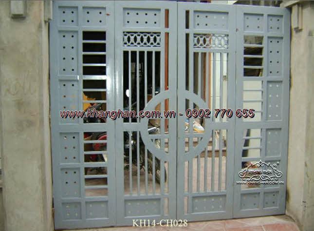 Cổng sắt hộp nghệ thuật KH14-CSH028