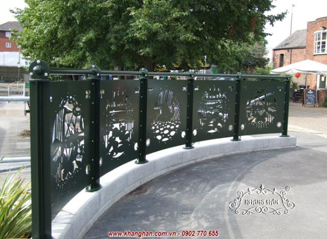 Hàng rào cắt CNC KH14-HR001