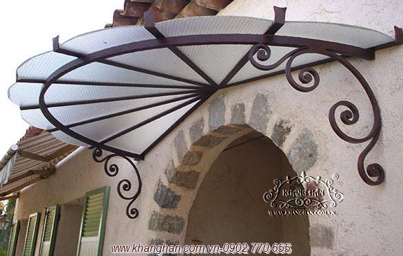 Mái vòm sắt rèn nghệ thuật KH15-MV018