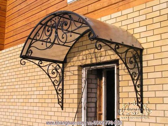 Mái vòm sắt rèn nghệ thuật KH15-MV026