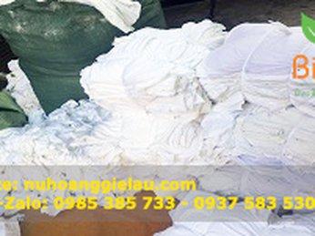 Cơ sở bán sỉ và lẻ giẻ lau cotton trắng giá rẻ tại Tp.HCM