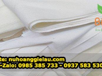 Phân phối chuyên sỉ lẻ giẻ lau cotton trắng nhỏ, lớn đủ cỡ