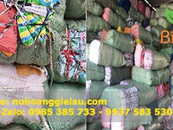 Xưởng chuyên bỏ mối giẻ lau cotton thị trường Hà Nội