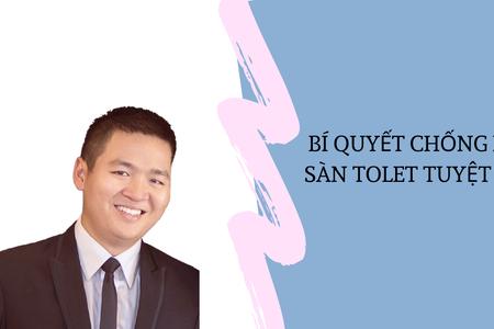 Bí Quyết Chống Hôi Sàn Tolet Tuyệt Đối | Nguyễn Anh Dũng | CEO Butecco