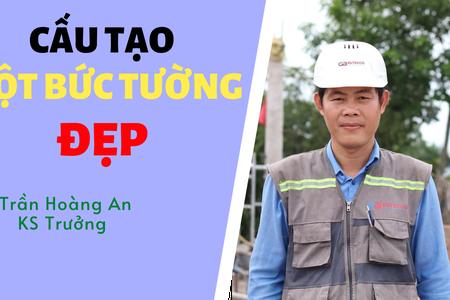 Cấu Tạo Một Bức Tường Đẹp | Trần Hoàng An | Trưởng Bộ Phận Thi Công Butecco