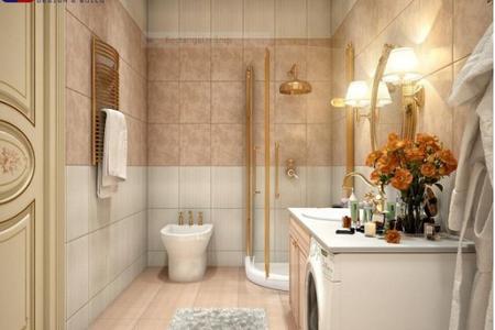 Thiết kế phòng tắm đẹp nhưng không kém phần cá tính