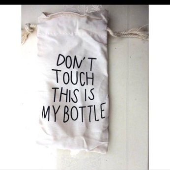 Túi vải dây rút my bottle
