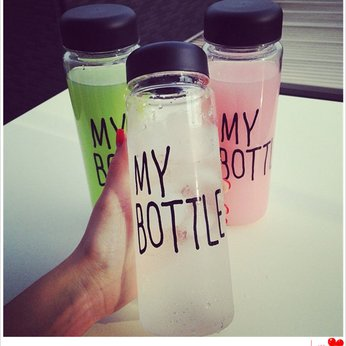 Bình nhựa kèm túi My bottle
