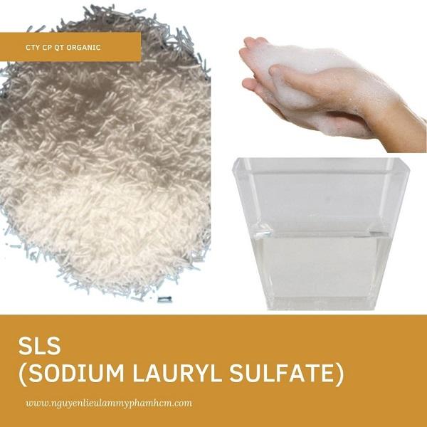 SLS (SODIUM LAURYL SULFATE)