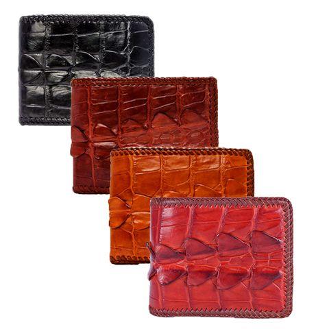 Bóp da cá sấu nam cao cấp tphcm - Các mẫu bóp nam mini