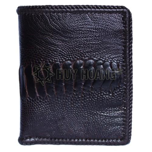Ví nam da đà điểu review - Các kiểu ví nam đẹp tphcm da thật