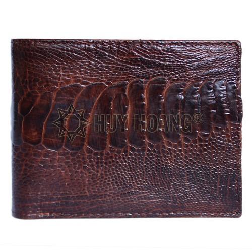 Mẫu ví da đà điểu nam thời trang - Chỗ bán ví nam đẹp tphcm