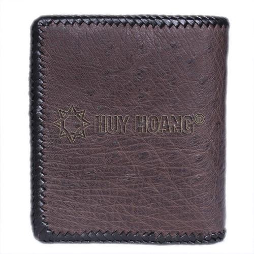 Bán ví da đà điểu nam quận 3 - Cửa hàng ví nam cầm tay TPHCM