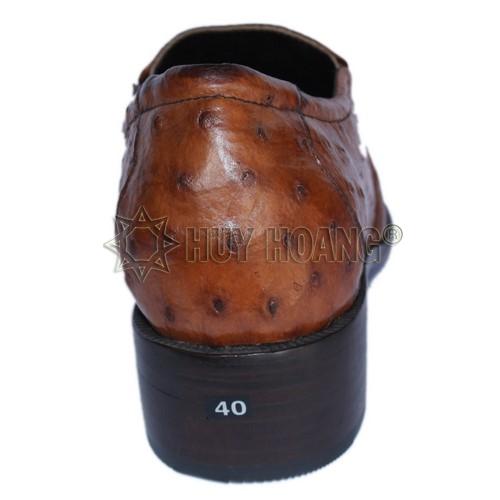 Những mẫu giày tây nam đẹp cao cấp - Giày tây da đà điểu thật