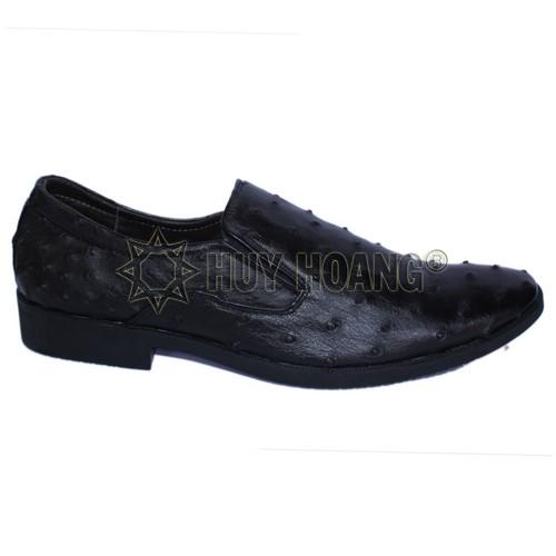 Shop giày tây nam đẹp ở TPHCM - Giày tây nam da đà điểu thật