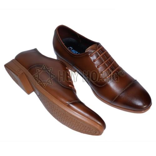 Giày tây nam da bò hàng hiệu - Các mẫu giày da nam đẹp cao cấp