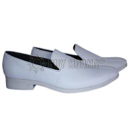 HH7506 - Giày tây nam Huy Hoàng màu trắng