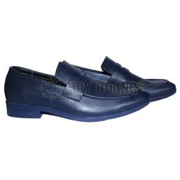 HH7511- Giày tây nam Huy Hoàng màu xanh đậm