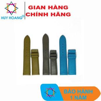 HH8109-10-11 - Dây đồng hồ da bò Huy Hoàng nhiều màu size nhỏ