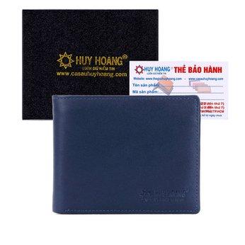 Bóp nam Huy Hoàng cao cấp màu xanh dương HH2137